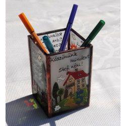 Ballagási ceruzatartó matematika tanárnak