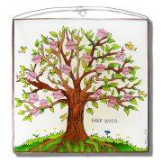 Virágzó életfa becenevekkel