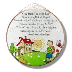 Abschiedsgeschenk Glasbild für Kindergärtnerinnen