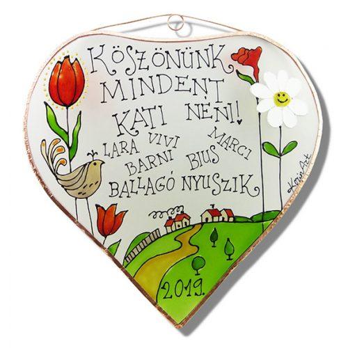 Danke für alles! Tulpen