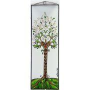 Életfa 3 üvegkép, üvegfestmény