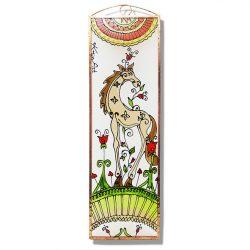 Pferd Glasbild, Glasmalerei