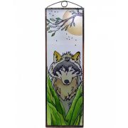 Wolf Glasbild, Glasmalerei