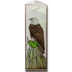 Adler Glasbild, Glasmalerei