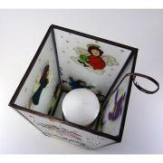 Weihnachtsengel Teelichthalter