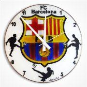 FC Barcelona Fußballmannschaft Wanduhr modern