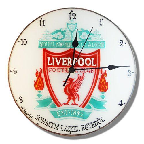Liverpool Fußballmannschaft Wanduhr modern
