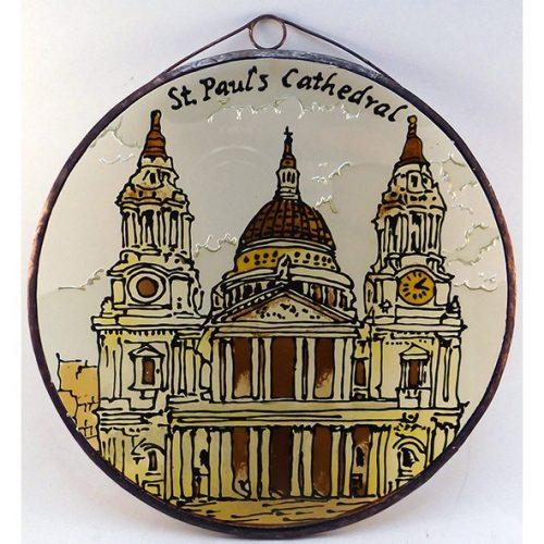 St Paul Cathedral Glasbild, Glasmalerei