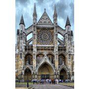 Westminster-Abbey, Westminsteri apátság üvegkép, üvegfestmény