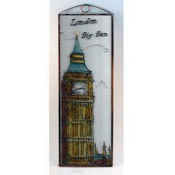 Big Ben üvegkép, üvegfestmény