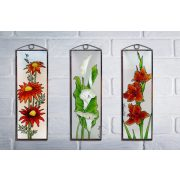 Krokus Glasbilder, Glasmalerei