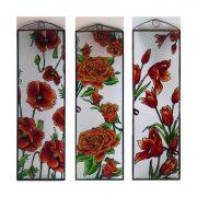 Rosen Glasbilder, Glasmalerei