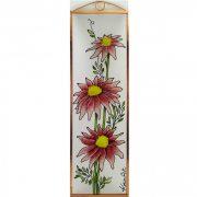 Gerbera Glasbilder, Glasmalerei