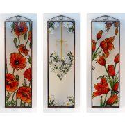 Lilie Glasbilder, Glasmalerei
